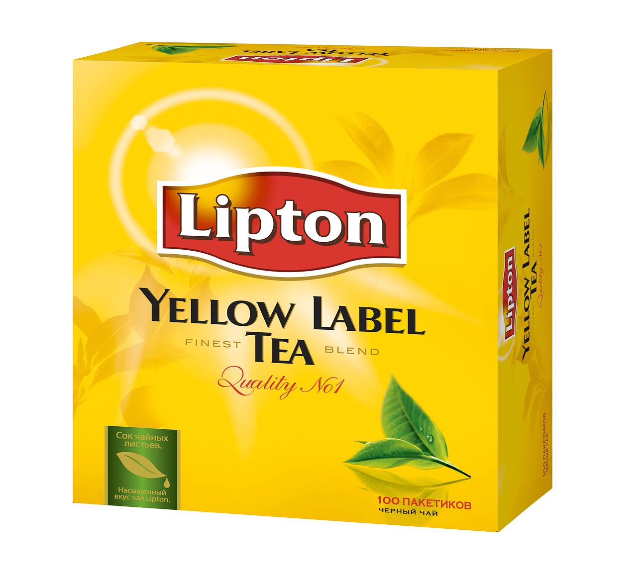 Lipton — чай в пакетиках